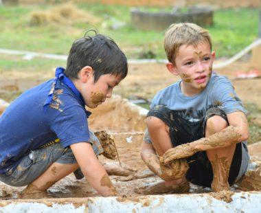 Workshop of soil-house