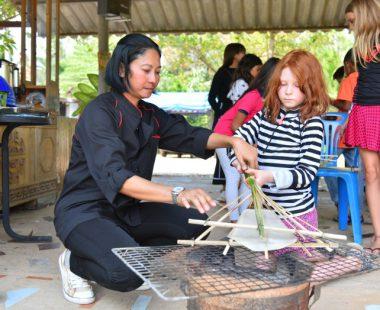 Workshop of Thai desserts